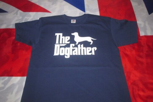 Cane Bassotto Padre T Shirt IL Dogfather