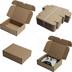 SHIPPING STORAGE BOXES POSTAL MAILING GIFT PACKET SMALL ...