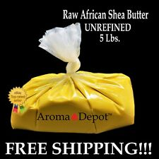d758faf4be67c5 5 lbs YELLOW Raw African Shea Butter Unrefined 100% Pure Natural Organic  Virgin 768855065680