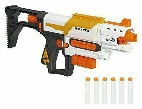Nerf N-Strike Elite Toy Blaster Military Style Toy Gun Outdoor Fun Kids Games FF