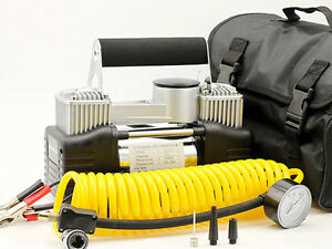 12V-Electric-Car-Air-Compressor-4x4-Tyre-Inflator-Portable-Kit-Pressure-Pump-4WD