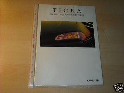 10630) Opel Tigra Color Line Arden Rio V. Prospekt 1996