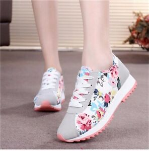 casual women running sneakers athletic sports breathable