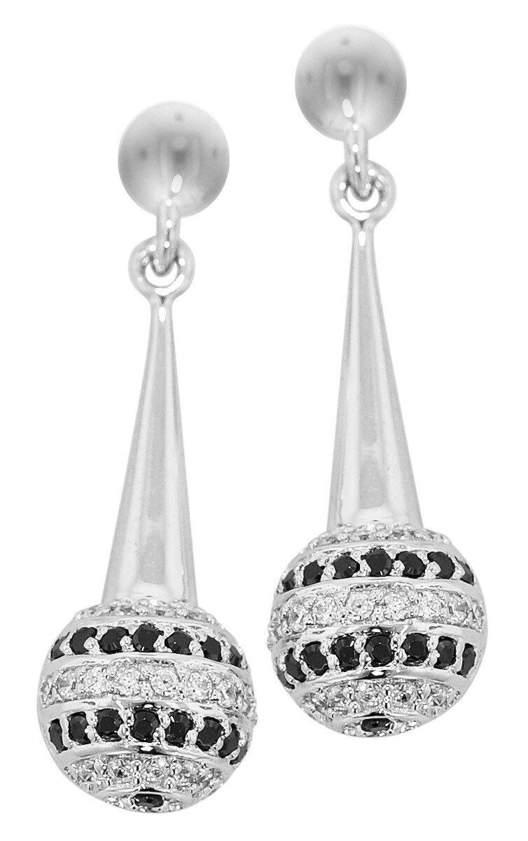 Trendor Joyas silver Circonia Pendientes 81491