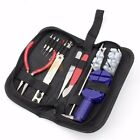 16pcs Watch Repair Tool Kit Link Remover Spring Bar Tool Case Opener Screwdriver
