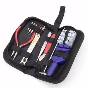 16pcs-Watch-Repair-Tool-Kit-Link-Remover-Spring-Bar-Tool-Case-Opener-Screwdriver