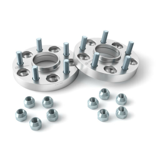 56.1 2pc 25mm Wheel Spacers Converts 5x100 to 5x114.3 Adapters Hub Centric