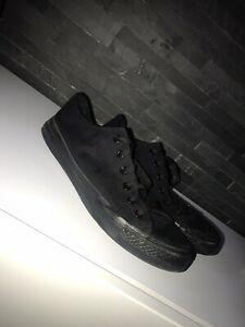 black converse size 8   eBay