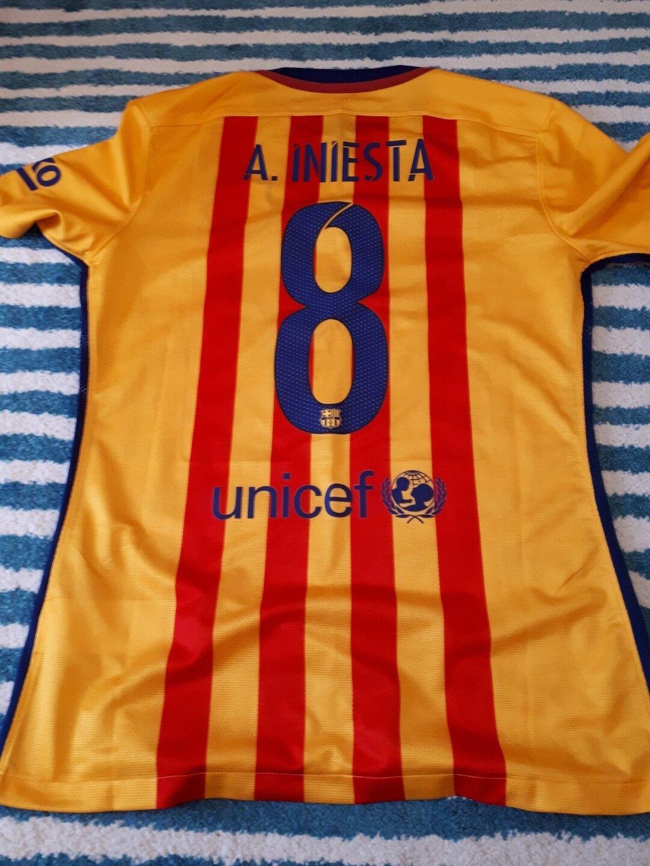 Fc Fc Fc barcelona trikot Iniesta Gr.M 014b3c