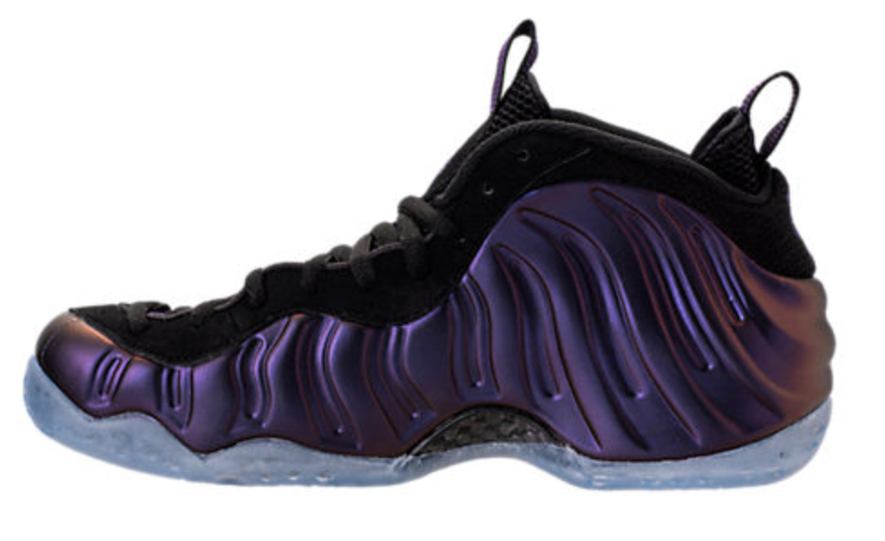 Nike Air Foamposite One Eggplant Black    Varsity PurpleFoams 314996 008 AUTHENTIC 003f44