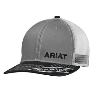 Ariat Mens Mesh Snap Back Hat