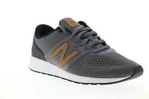New-Balance-24V1-XMRL24CRC-Mens-Gray-Canvas-Lace-Up-Low-Top-Sneakers-Shoes