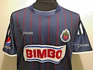 fba42e6b4ff Image is loading CLUB-DEPORTIVO-GUADALAJARA-CHIVAS-FOOTBALL-SHIRT-MEN-039-