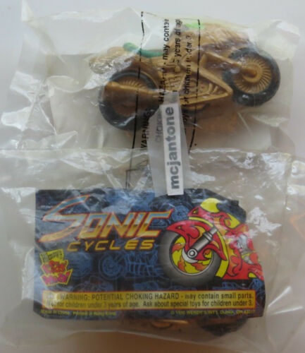 Wendy/'s 1997 SONIC CYCLES Motorcycle METALLIC Bike Cycle Under 3 YOUR Toy CHOICE