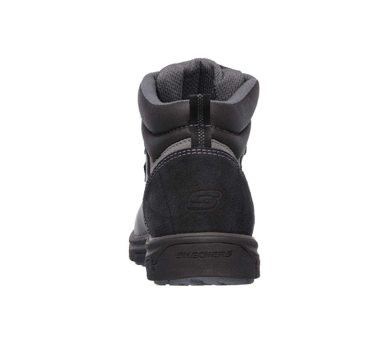 64521 Skechers Para Hombre Negro relajados segmento Ander Bota Negro Hombre 0d58cb