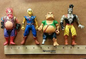 4-Vintage-Hanna-Barbera-Pirates-of-Dark-Water-Figures-Zoolie-Konk-Ren-amp-Ioz