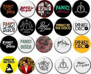 At The Disco Pinback Buttons Panic