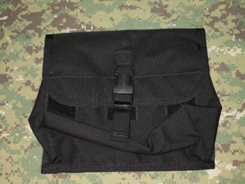 PALS ~ NEW USA! DIAMONDBACK TACTICAL ~ GAS MASK POUCH ~ BLACK ~ MOLLE