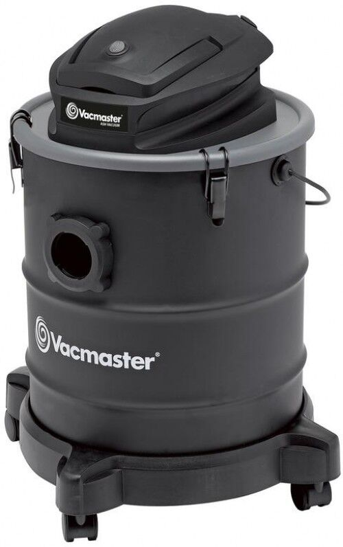 Vacmaster 6 gal. Wet Dry Ash Vacuum 8 Amp LED Work Light Ultra-Quiet w  Wheels