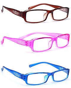 520129d346 Mujer Gafas de Lectura Lentes 0.5 +1.0 +2.0 +3.0 +3.5 Gafas Fino ...