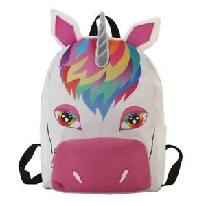 New Kids Backpack Unicorn Rucksack Back To School Handbag Outdoor