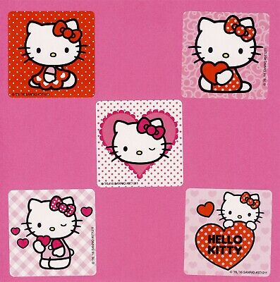 15 Halloween Hello Kitty Party Favors Rewards Large Stickers