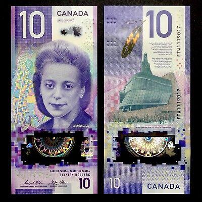 2018 CANADA 10 DOLLARS POLYMER P-NEW UNC /> VIOLA DESMOND WINNIPEG FTW PREFIX