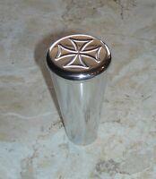 Gm Aftermarket Billet Steering Column Shift Knob Sleek Style Engraved Iron Cross
