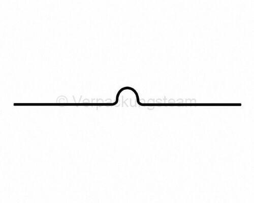 Kalenderaufhänger Kalenderhaken 80mm für Drahtbindung A4//A5 weiß