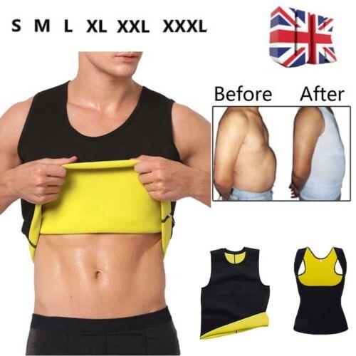 Women Men Slim Waist Trainer Neoprene Body Shaper Vest Tank Top Sweat Sauna Suit