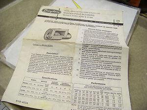 Dayton-Shaded-Pole-Blowers-Instructions-amp-Parts-List-4C564-4C565-4C566