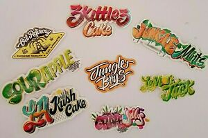 Details about Jungle boys 8 Pack of Vinyl Stickers Cali Slap - Weed 420 710  Marijuana cannabis