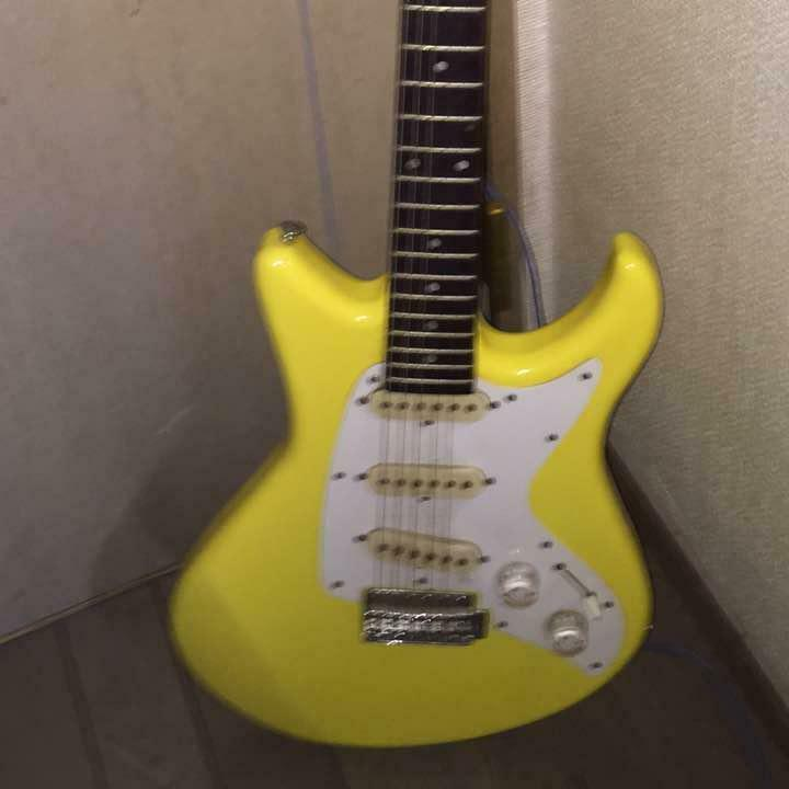 YAMAHA SS300 Gelb Japan rare beautiful vintage popular electric guitar F   S