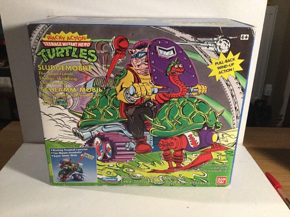 Década de 1980 Teenage Mutant Ninja Turtles sludgemobile notused, etiqueta engomada, Piezas Sellado