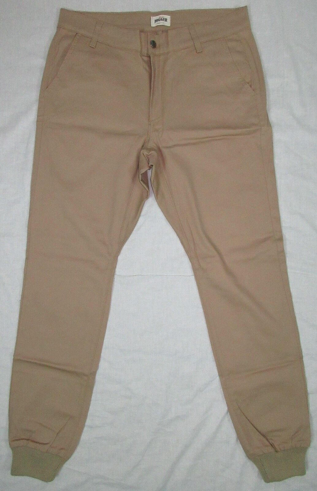 RUSTIC DIME SUNSET JOGGER PANTS STRETCH TWILL TOBACCO SIZE 34