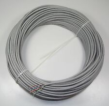 50m Coil Cat5e Cable - 4 Pair UTP Solid Copper in Grey PVC Sheath