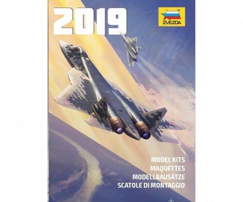 A4-60 Seiten Neu Zvezda 2019 Katalog