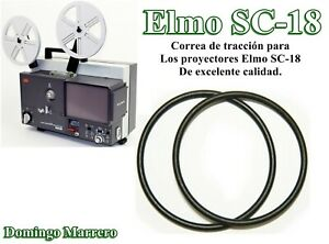 Correa Proyector Cine Super 8 Chinon Sound Drive Belt