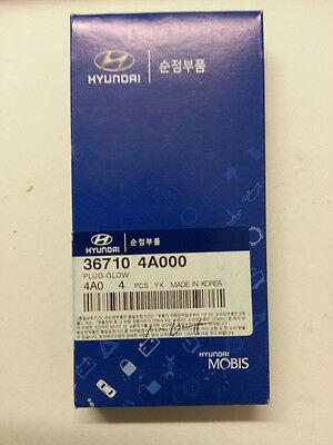 BOSCH Duraterm GLOW PLUG x4 FOR HYUNDAI iLoad IMAX TQ 2.5L TURBO D4CB