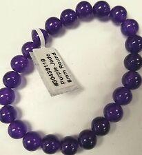 purple jade crystal bracelet new