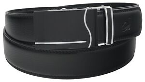 Mens Womens Casual Luxury Fashion Automatic Buckle Ratchet Belt For Men Gift Q60