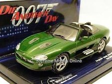 MINICHAMPS JAGUAR XKR XK JAMES BOND DIE ANOTHER DAY CAR ZAO SPORTS 1:43 SCALE <>