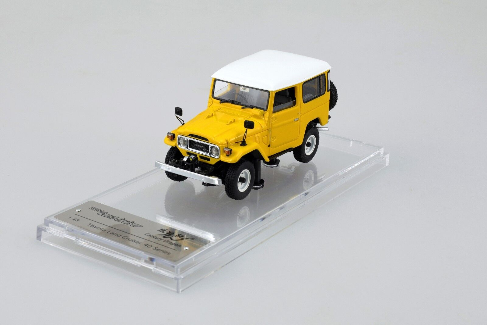 1 43 Toyota Land Cruiser LC BJ FJ40 Series Century Dragon Resin YW High-End LE