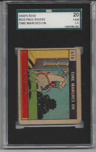 1930's R150 Time Marches On 616 Graded! Beautiful!