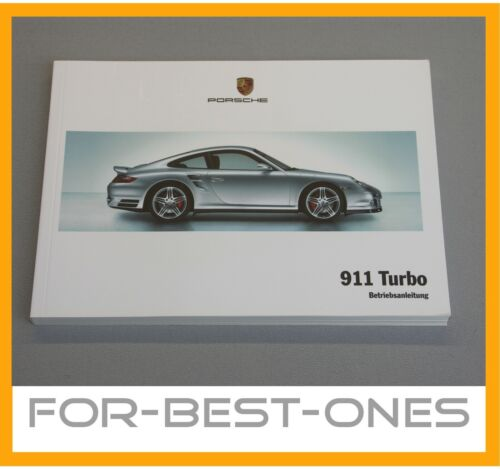 NEU Porsche 911 997 Turbo Betriebsanleitung Bedienungsanleitung ...