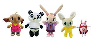 Bing Peluche Serie Tv Set 5 Personaggi: Pando Sula Coco Charlie e Hoppity
