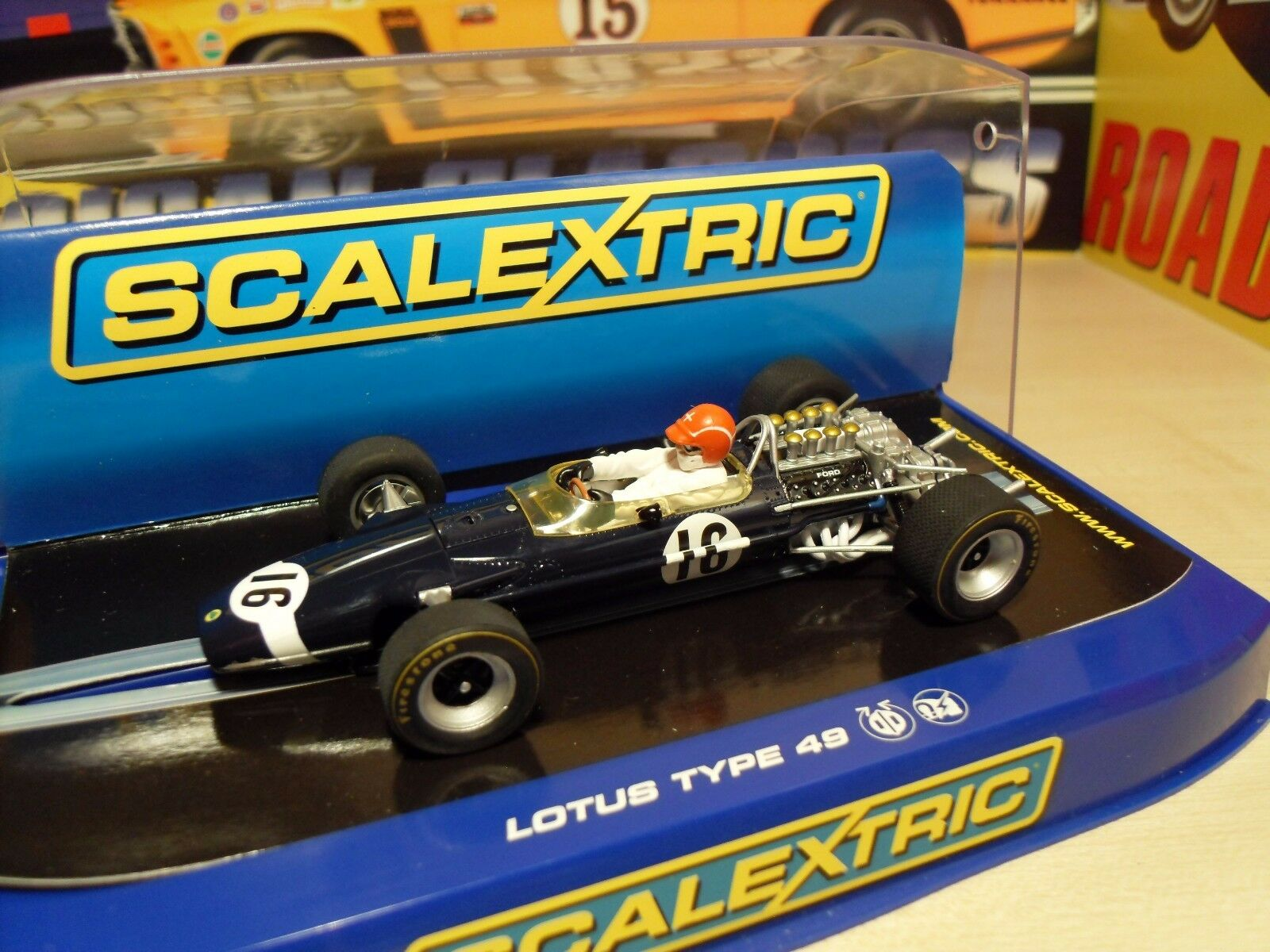 Scalextric C3092 Lotus 49 'Jo Siffert' - Brand New in Box.