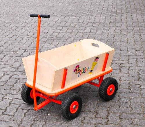 Kleiner Klopfer Likör, Handwagen, Bollerwagen, Transportwagen, sehr robust..
