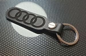 Audi-Anneaux-Cuir-Porte-Cles-A-1-2-3-4-5-6-7-8-Carre-S-Sline-Quattro-Tt-R8-O-039