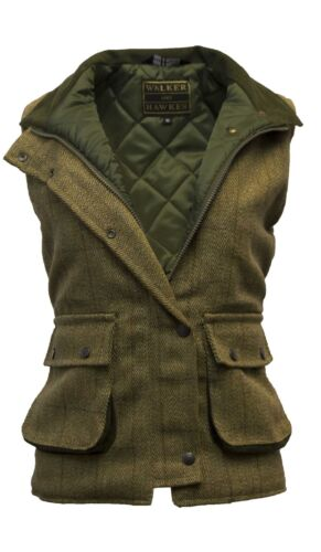 Light Tournage Tweed Gilet Hawkes Walker Femmes Gilet Sage Par Pour De Country wqwFCtxfv